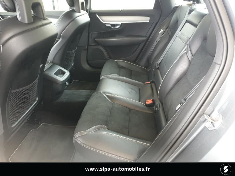 Volvo S90 D5 AWD 235ch R-Design Geartronic Gris occasion à Mérignac - photo n°8