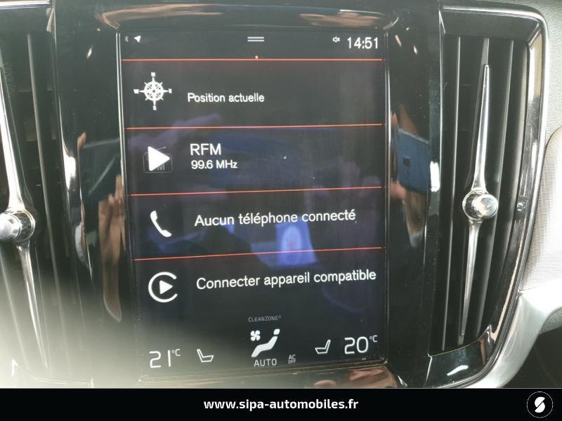 Volvo S90 D5 AWD 235ch R-Design Geartronic Gris occasion à Mérignac - photo n°16