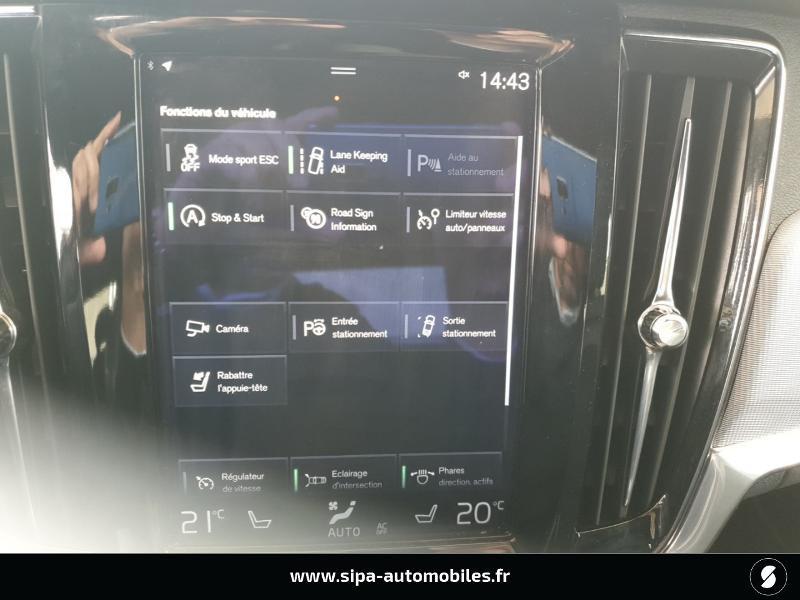 Volvo S90 D5 AWD 235ch R-Design Geartronic Gris occasion à Mérignac - photo n°15