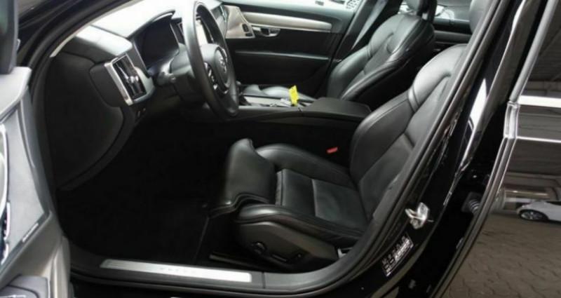 Volvo S90 II D5 AWD 235  INSCRIPTION LUXE GEARTRONIC 8 Noir occasion à Saint Patrice - photo n°4