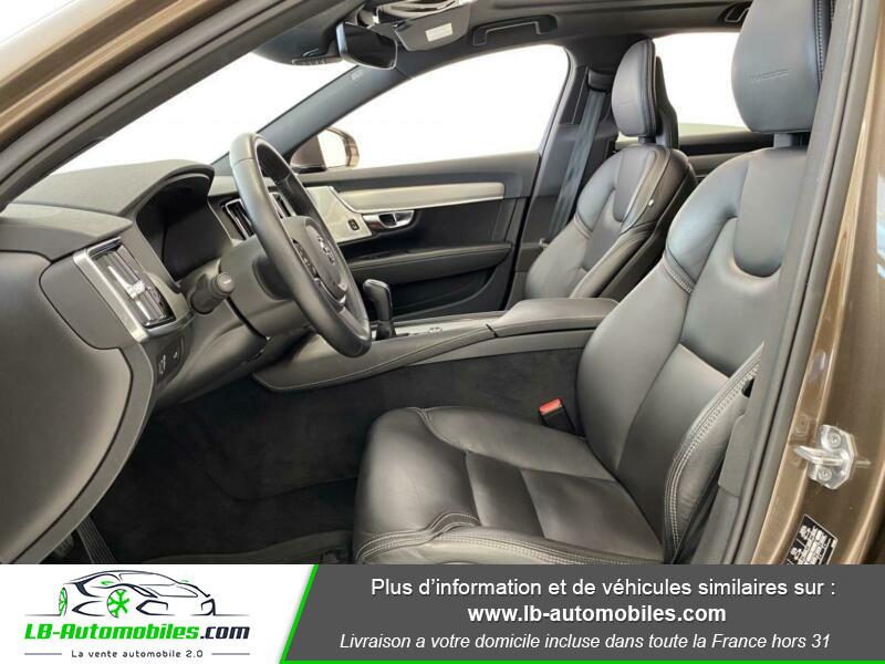 Volvo S90 S90 D4 190 ch Marron occasion à Beaupuy - photo n°7