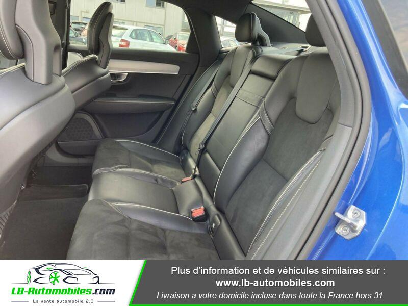 Volvo S90 S90 D4 190 ch Bleu occasion à Beaupuy - photo n°10