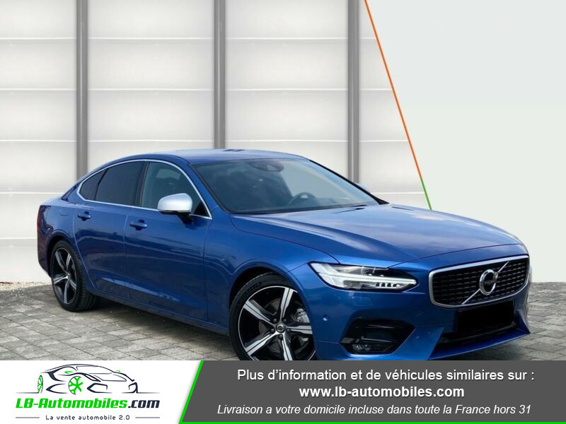Volvo S90 S90 D4 190 ch Bleu occasion à Beaupuy