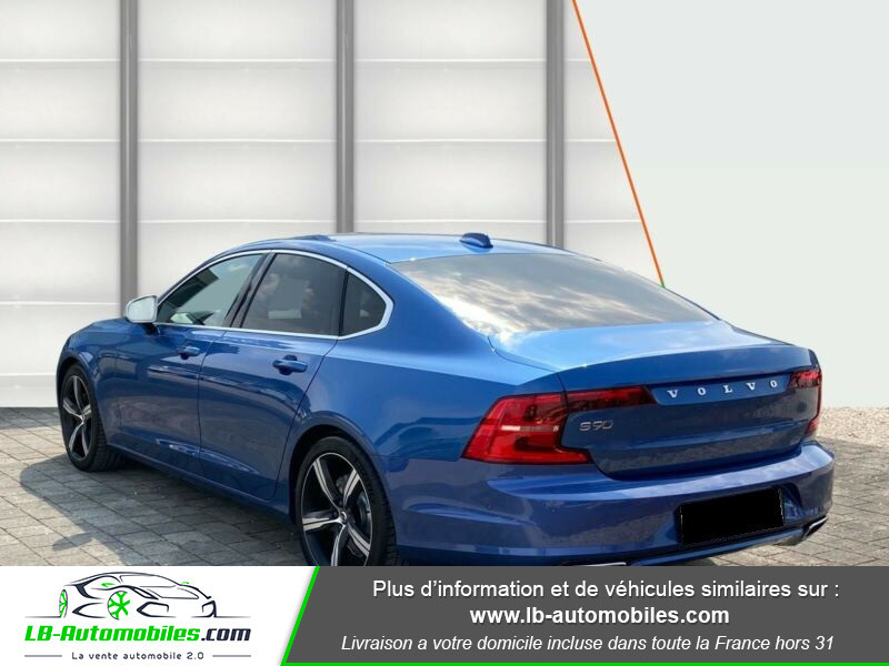 Volvo S90 S90 D4 190 ch Bleu occasion à Beaupuy - photo n°3