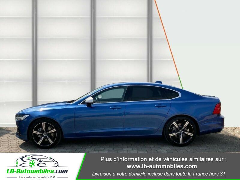 Volvo S90 S90 D4 190 ch Bleu occasion à Beaupuy - photo n°4
