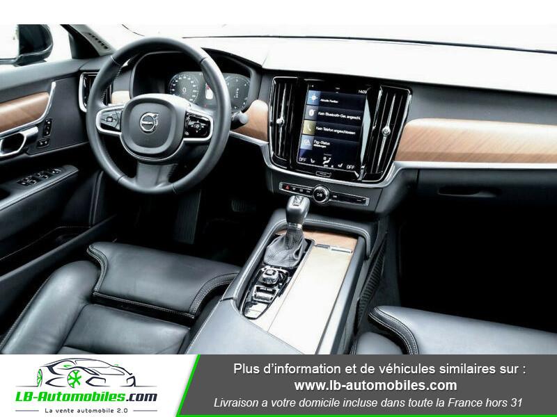 Volvo S90 S90 D4 190 ch Noir occasion à Beaupuy - photo n°6
