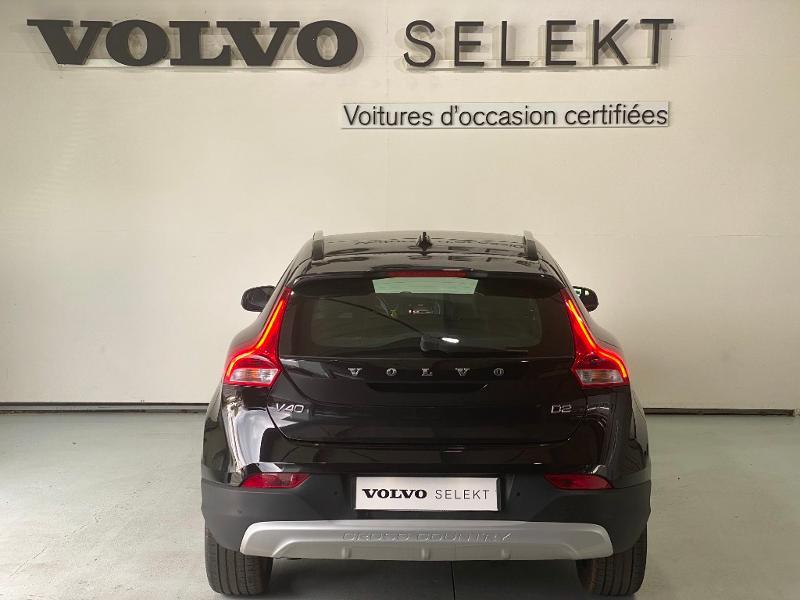 Volvo V40 D2 120ch Geartronic Noir occasion à Labège - photo n°5