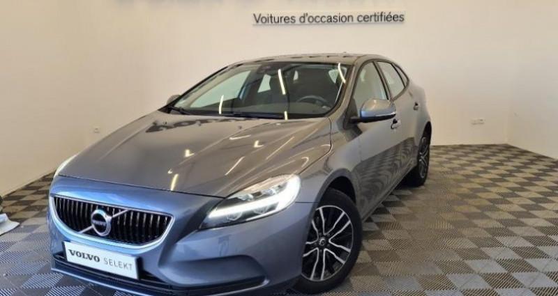 Volvo V40 D2 120ch Momentum Business Gris occasion à TOURLAVILLE