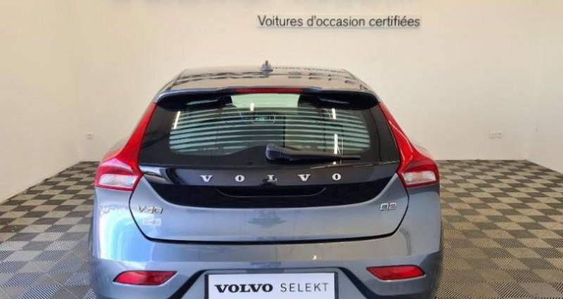 Volvo V40 D2 120ch Momentum Business Gris occasion à TOURLAVILLE - photo n°5