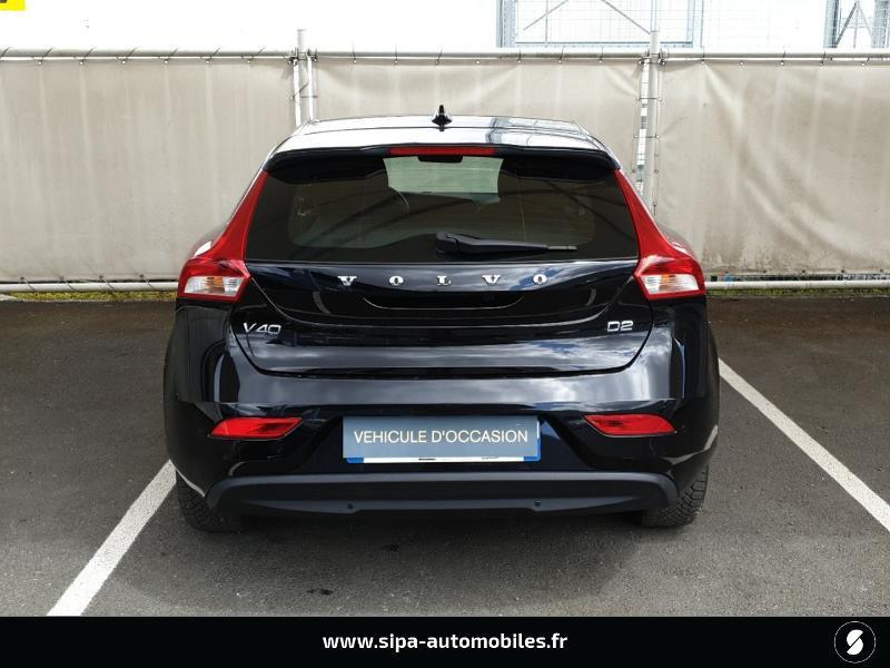 Volvo V40 D2 120ch Momentum Business Noir occasion à Mérignac - photo n°4
