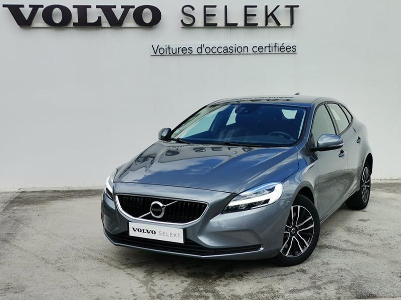 Volvo V40 T2 122ch Business Geartronic Gris occasion à Barberey-Saint-Sulpice