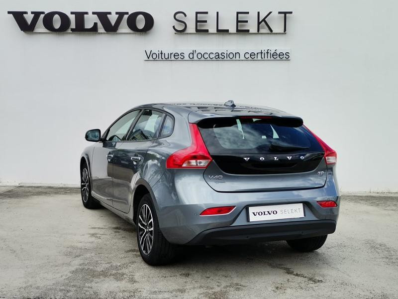Volvo V40 T2 122ch Business Geartronic Gris occasion à Barberey-Saint-Sulpice - photo n°2