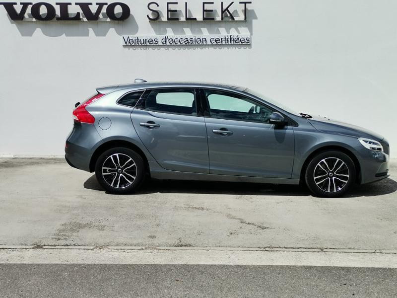 Volvo V40 T2 122ch Business Geartronic Gris occasion à Barberey-Saint-Sulpice - photo n°5