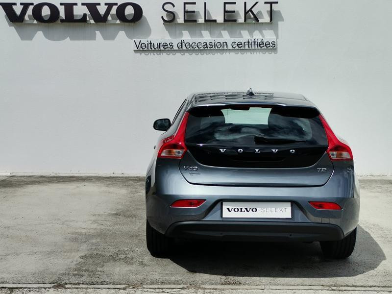 Volvo V40 T2 122ch Business Geartronic Gris occasion à Barberey-Saint-Sulpice - photo n°3