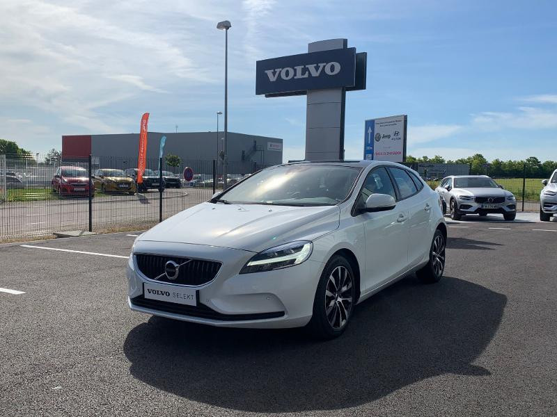 Volvo V40 T2 122ch Edition Geartronic Blanc occasion à Barberey-Saint-Sulpice