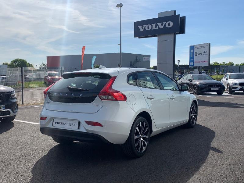 Volvo V40 T2 122ch Edition Geartronic Blanc occasion à Barberey-Saint-Sulpice - photo n°4