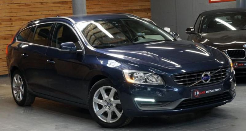 Volvo V60 D2 115 MOMENTUM BUSINESS Bleu occasion à RONCQ - photo n°3