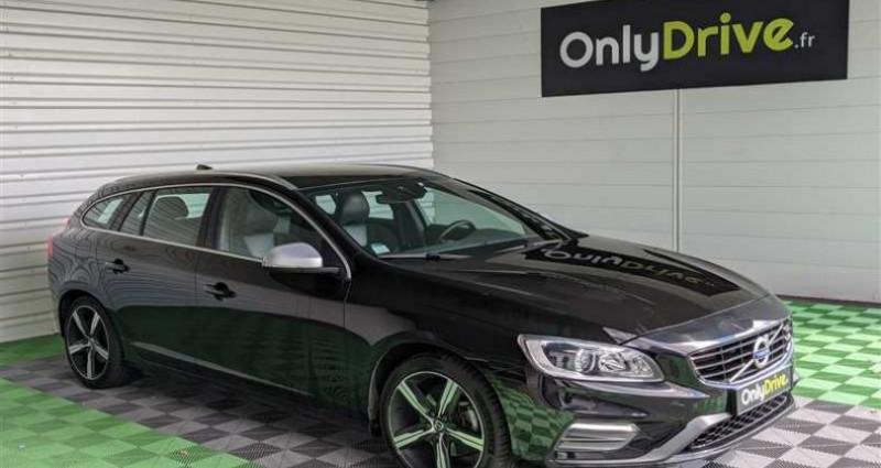 Volvo V60 D3 150 ch Stop&Start R-Design Geartronic A Noir occasion à SAINT FULGENT