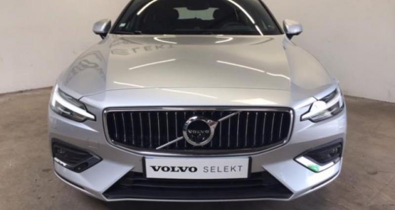 Volvo V60 D4 190ch AdBlue Inscription Luxe Geartronic Argent occasion à Vert-saint-denis - photo n°2