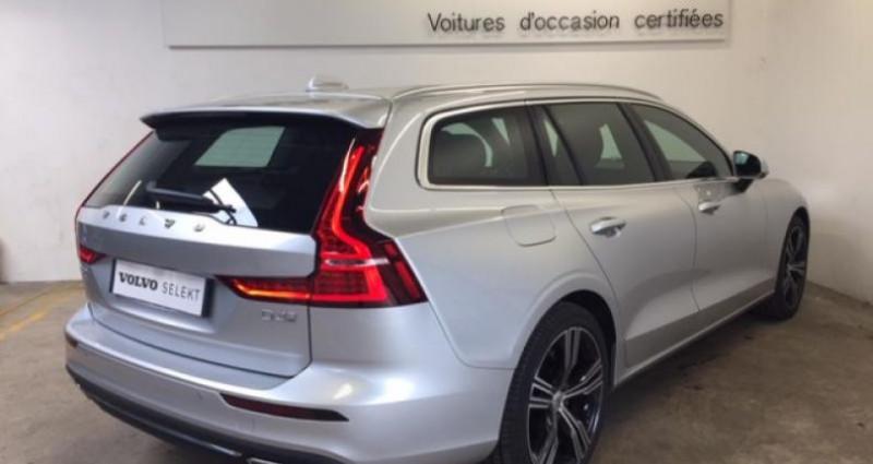 Volvo V60 D4 190ch AdBlue Inscription Luxe Geartronic Argent occasion à Vert-saint-denis - photo n°3