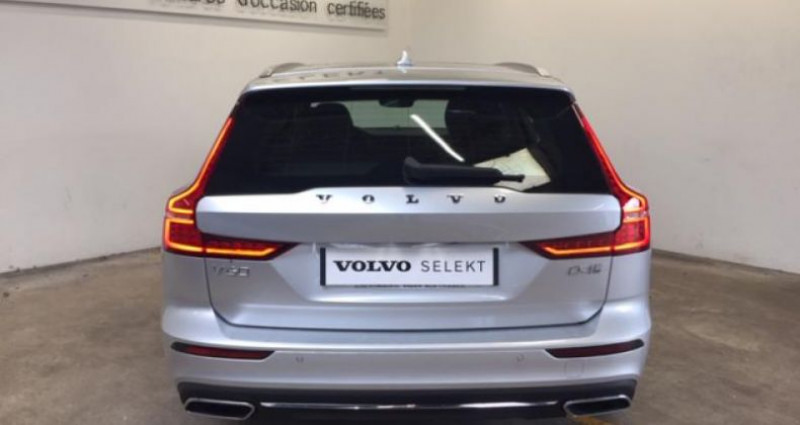 Volvo V60 D4 190ch AdBlue Inscription Luxe Geartronic Argent occasion à Vert-saint-denis - photo n°4