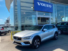 Volvo V60 D4 190ch AWD Cross Country Pro Geartronic Argent à Barberey-Saint-Sulpice 10