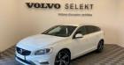 Volvo V60 D4 190ch R-Design Geartronic Blanc à TOURLAVILLE 50