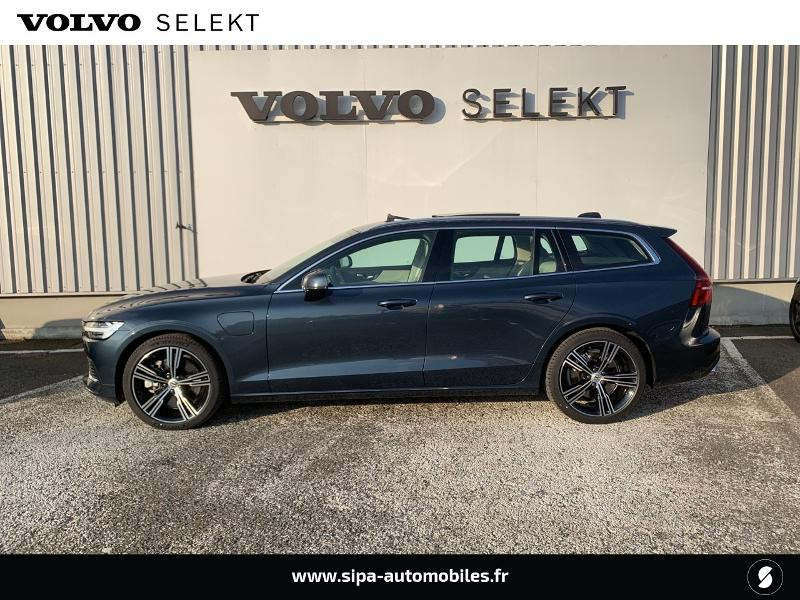 Volvo V60 T6 AWD 253 + 87ch Inscription Luxe Geartronic Bleu occasion à Lormont - photo n°2