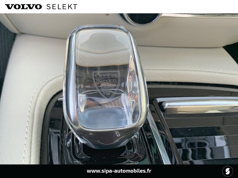 Volvo V60 T6 AWD 253 + 87ch Inscription Luxe Geartronic Bleu occasion à Lormont - photo n°20
