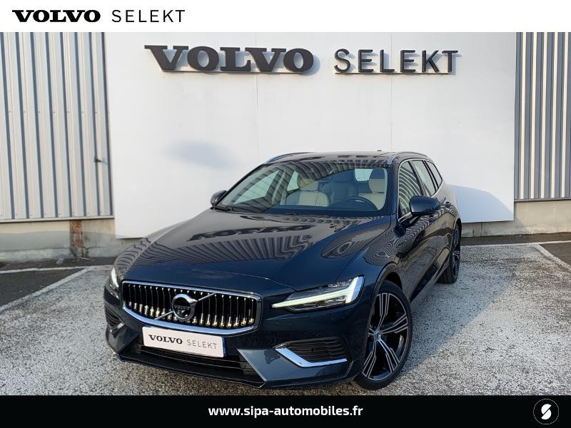 Volvo V60 T6 AWD 253 + 87ch Inscription Luxe Geartronic Bleu occasion à Lormont