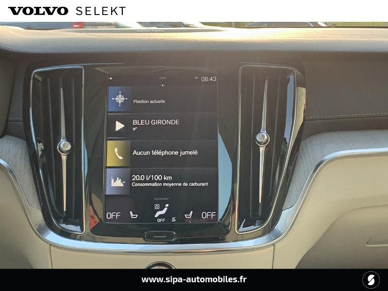Volvo V60 T6 AWD 253 + 87ch Inscription Luxe Geartronic Bleu occasion à Lormont - photo n°10