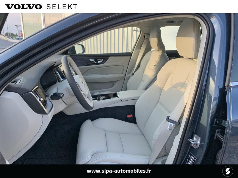 Volvo V60 T6 AWD 253 + 87ch Inscription Luxe Geartronic Bleu occasion à Lormont - photo n°6