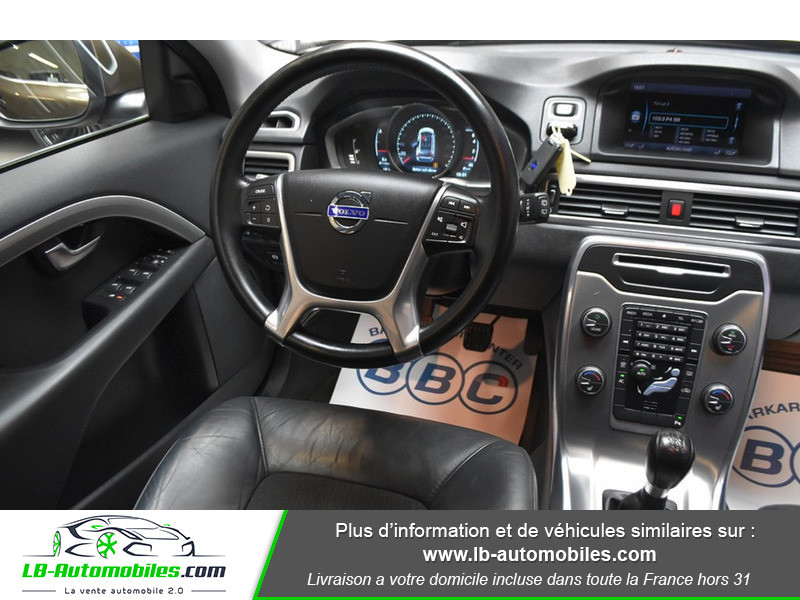 Volvo V70 T4F MOMENTUM 180CV E85 ETHANOL Marron occasion à Beaupuy - photo n°6