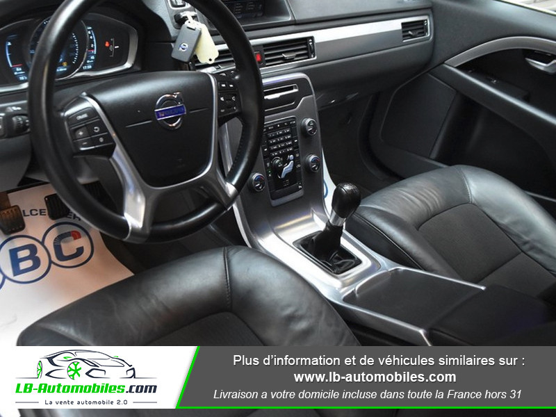 Volvo V70 T4F MOMENTUM 180CV E85 ETHANOL Marron occasion à Beaupuy - photo n°2