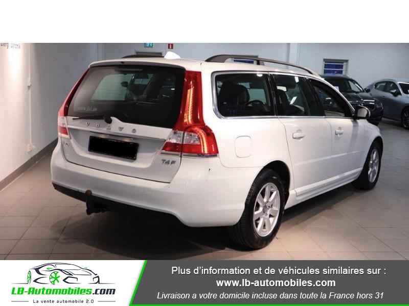 Volvo V70 T4F MOMENTUM FLEXIFUEL E85 ETHANOL ORIGINE Blanc occasion à Beaupuy - photo n°3