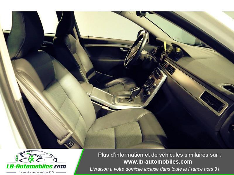 Volvo V70 T4F MOMENTUM FLEXIFUEL E85 ETHANOL ORIGINE Blanc occasion à Beaupuy - photo n°8