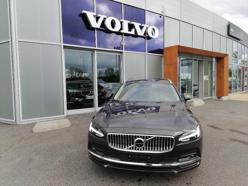 Volvo V90 B4 Adblue 197ch Inscription Luxe Geartronic Gris occasion à Onet-le-Château - photo n°2