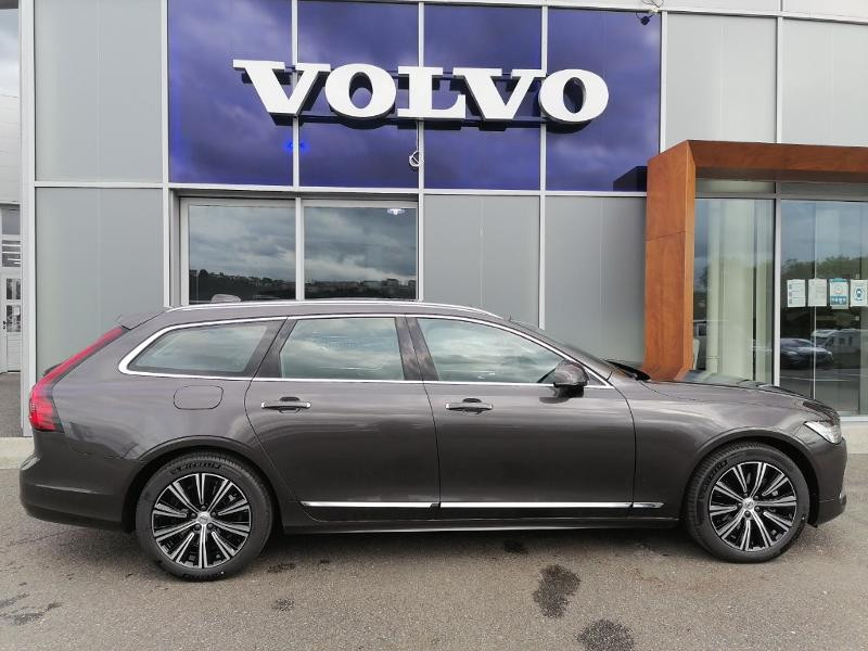 Volvo V90 B4 Adblue 197ch Inscription Luxe Geartronic Gris occasion à Onet-le-Château - photo n°4