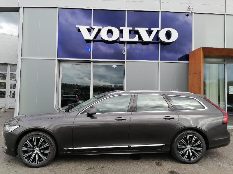 Volvo V90 B4 Adblue 197ch Inscription Luxe Geartronic Gris occasion à Onet-le-Château - photo n°3