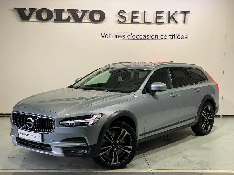 Volvo V90 D4 AdBlue AWD 190ch Pro Geartronic Argent occasion à Labège