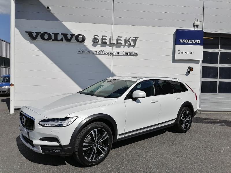 Volvo V90 D5 AdBlue AWD 235ch Geartronic Blanc occasion à Onet-le-Château - photo n°2