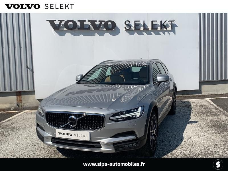 Volvo V90 D5 AdBlue AWD 235ch Pro Geartronic Argent occasion à Lormont