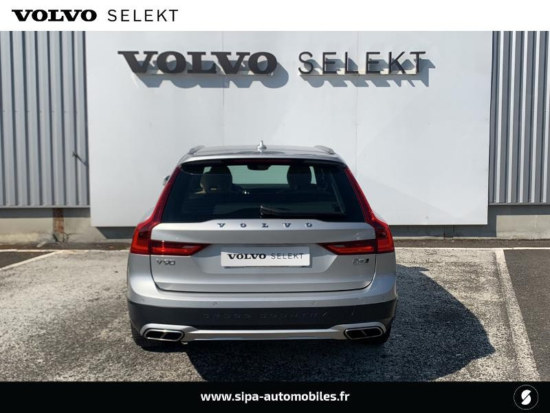 Volvo V90 D5 AdBlue AWD 235ch Pro Geartronic Argent occasion à Lormont - photo n°5