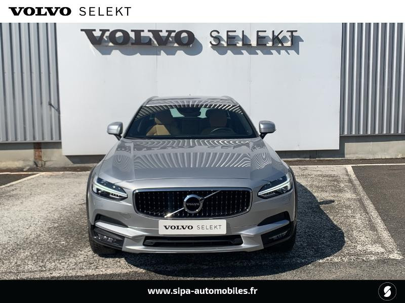 Volvo V90 D5 AdBlue AWD 235ch Pro Geartronic Argent occasion à Lormont - photo n°4