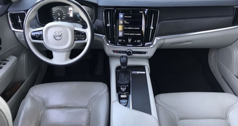 Volvo V90 D5 AWD 235CH PRO GEARTRONIC Gris occasion à SAUTRON - photo n°4