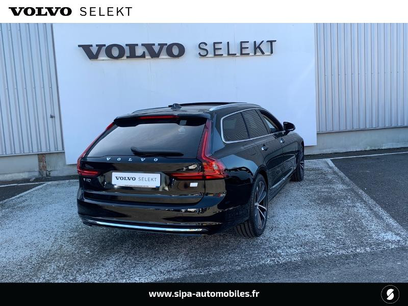 Volvo V90 T8 AWD Recharge 303 + 87ch Inscription Luxe Geartronic Noir occasion à Lormont - photo n°3