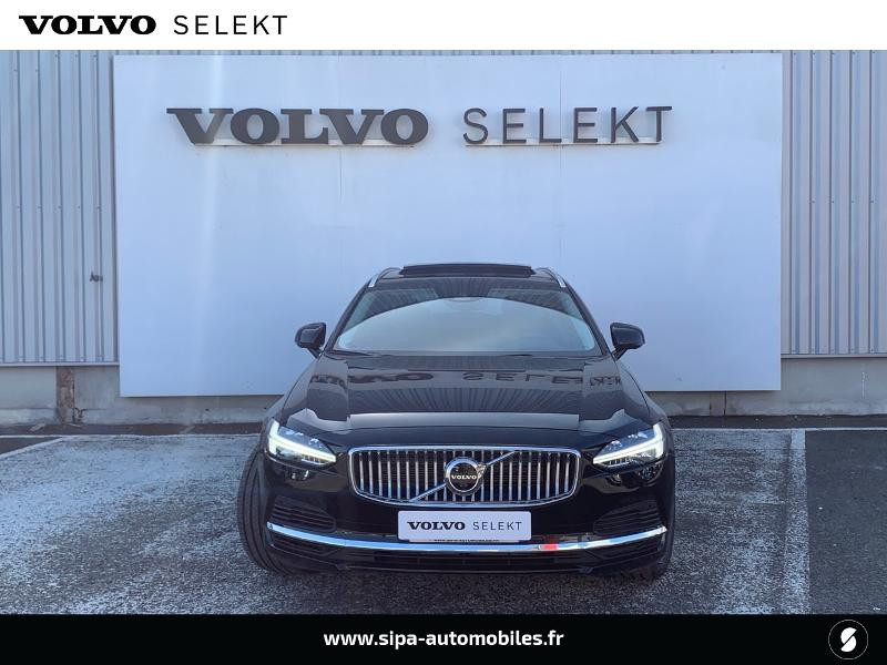 Volvo V90 T8 AWD Recharge 303 + 87ch Inscription Luxe Geartronic Noir occasion à Lormont - photo n°4