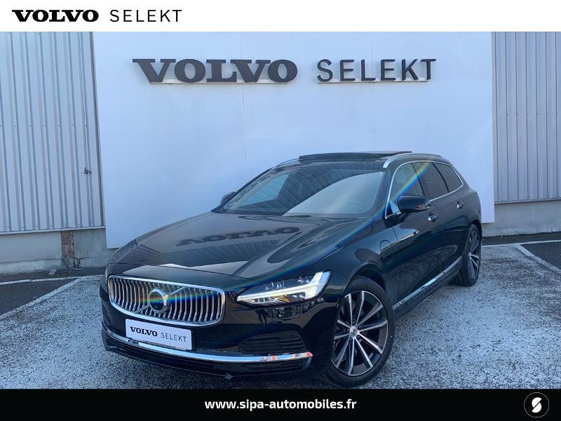 Volvo V90 T8 AWD Recharge 303 + 87ch Inscription Luxe Geartronic Noir occasion à Lormont