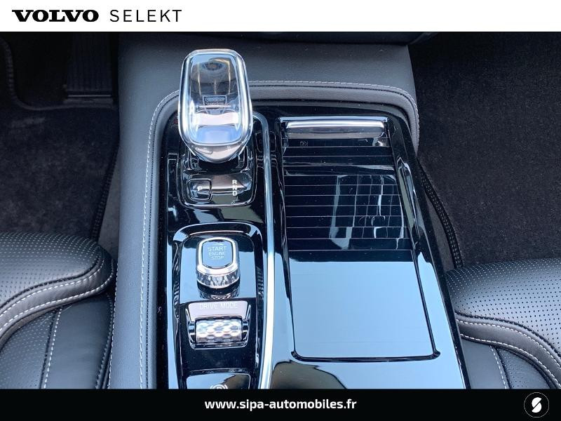 Volvo V90 T8 AWD Recharge 303 + 87ch Inscription Luxe Geartronic Noir occasion à Lormont - photo n°11