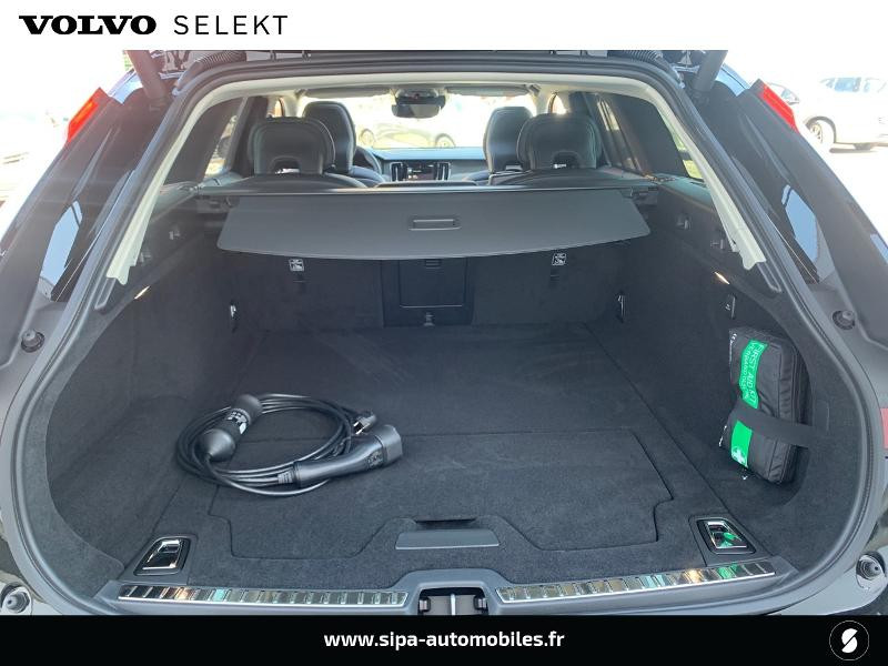 Volvo V90 T8 AWD Recharge 303 + 87ch Inscription Luxe Geartronic Noir occasion à Lormont - photo n°9